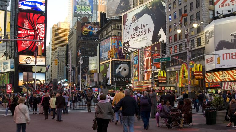 In normal times Broadway generates billions for the New York economy