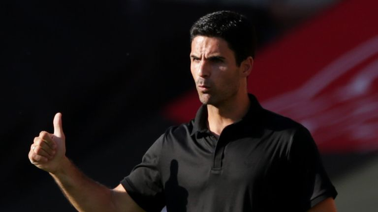 Mikel Arteta is not giving up hope of Champions League qualification
