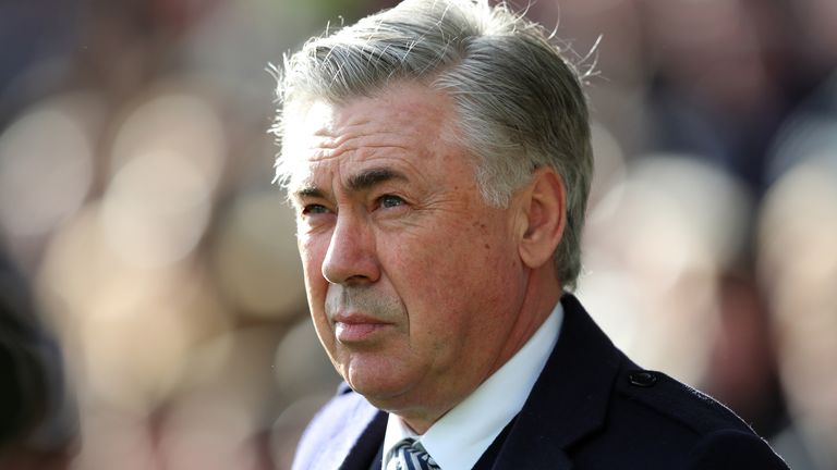 Ancelotti says his side must 'run fast' if they are to qualify for next season's Europa League