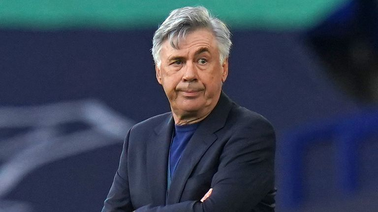 Everton manager Carlo Ancelotti talks about the improvements he wants to see in his team next season, calling it an 'evolution'