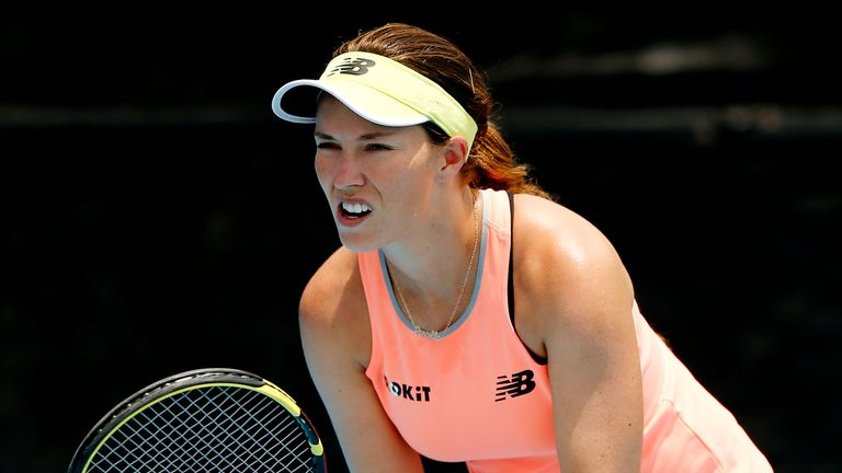 Danielle Collins believes tennis players should begin competing again