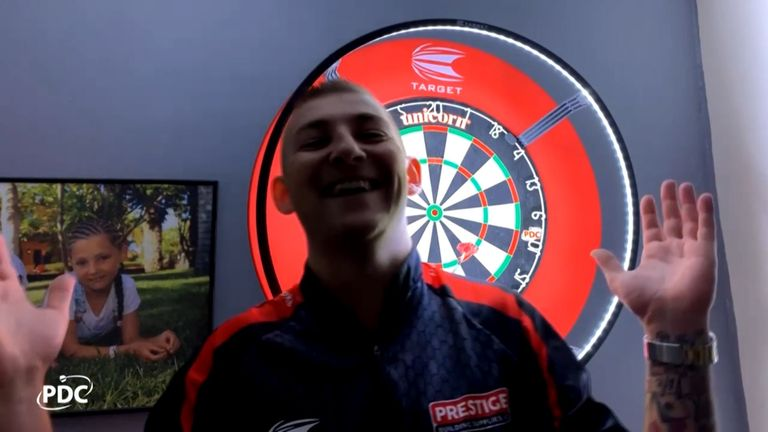 A look back at the story of the final night of the PDC Home Tour as Nathan Aspinall came out on top
