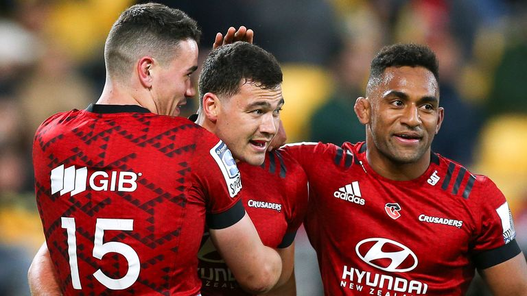 Robertson believes Crusaders have an advantage before the first game against Hurricanes