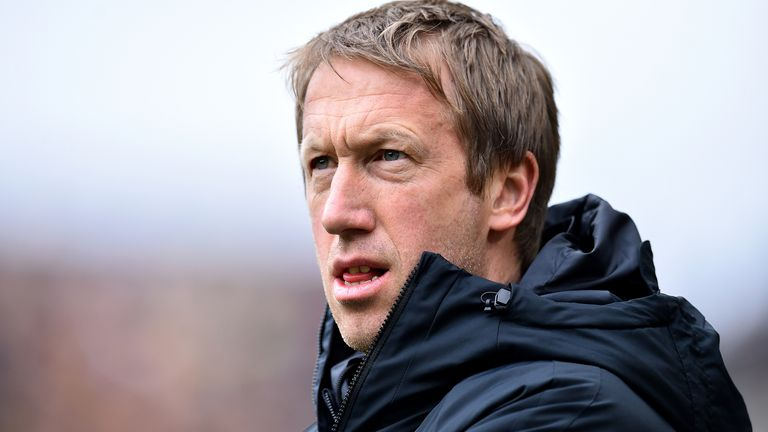 Brighton boss Graham Potter believes his side's performances have been good so far this season, but they are disappointed to only have three points