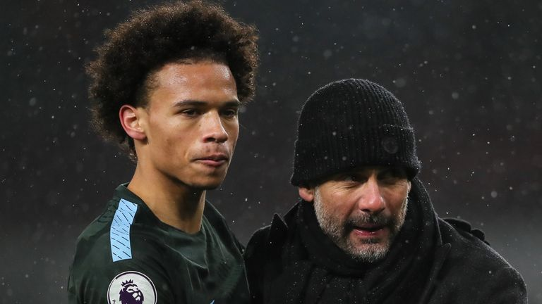 Pep Guardiola says a combination of the financial impact of coronavirus and the players he already has means he may not replace Leroy Sane