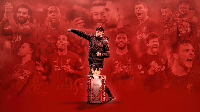 Liverpool have been crowned champions of England for the first time in thirty years.