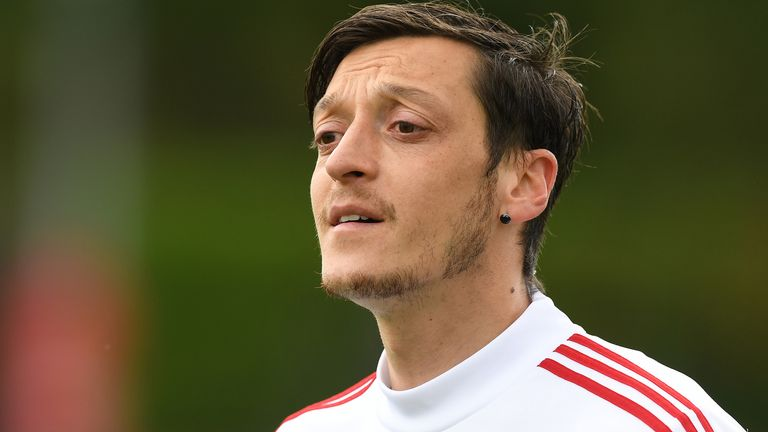 Former Arsenal striker Alan Smith says Ozil has been a 'wasted talent' who has not reached his top level for the past couple of seasons at the Emirates