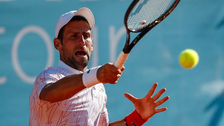 Novak Djokovic tested positive after competing in the Adria Tour
