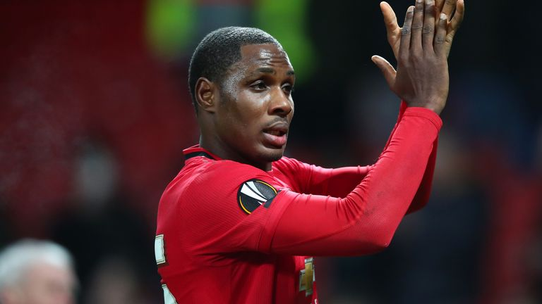 Odion Ighalo will remain on loan at Man Utd until January 2021