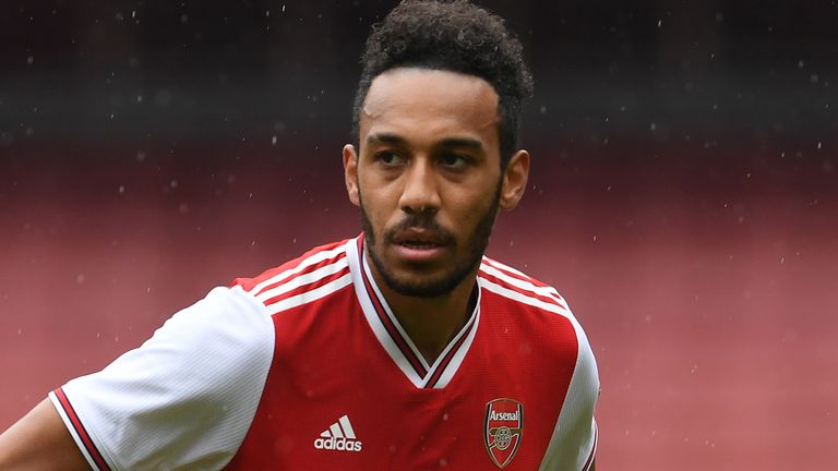 Arteta said on Monday that Aubameyang's future is uncertain