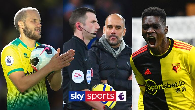 Here's a reminder of some of the magic, drama and controversies from the Premier League season so far.... and there's not long to wait until it's back!