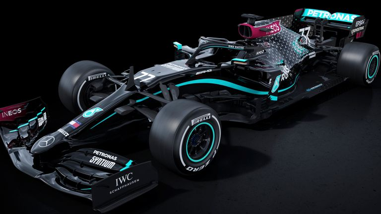 Lewis Hamilton and Valtteri Bottas will race black-liveried Mercedes cars in the 2020 season as F1's world champions make a powerful and visual stand against racism and for diversity