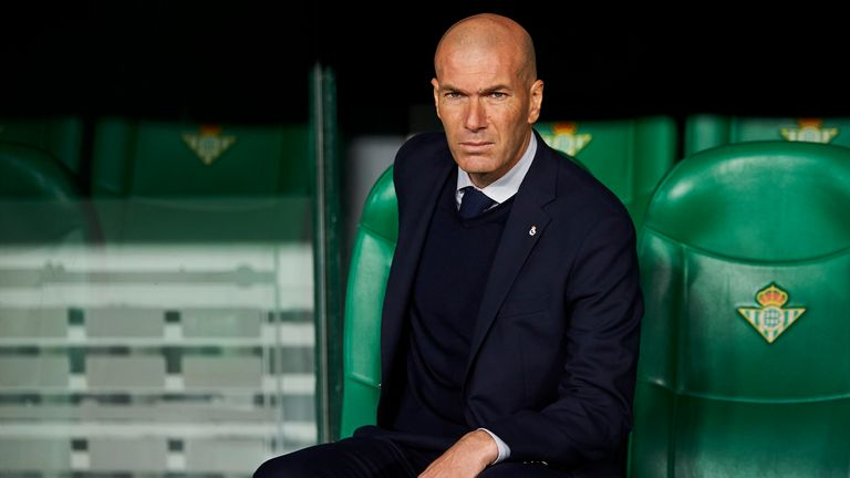 Real Madrid head coach Zidane says it is up to him to 'find a solution' after his side lost 3-2 to Shakhtar Donetsk in their opening Champions League group game.
