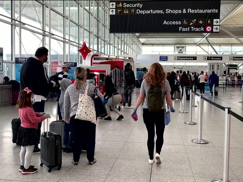 Coronavirus: More than 50 countries will be exempt from COVID-19 travel  quarantine | UK News | Sky News