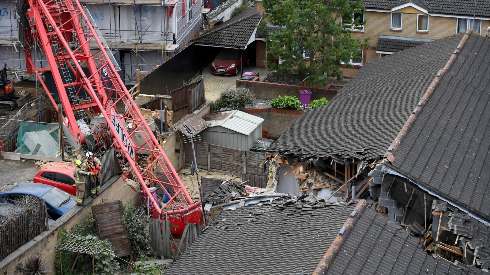 Bow crane collapse: Victim named as 85-year-old June Harvey