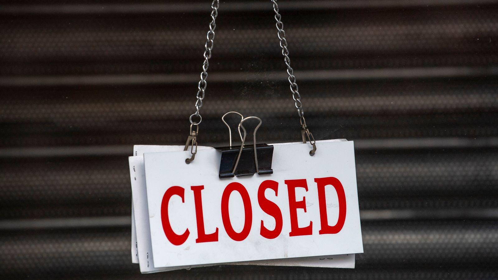 Coronavirus slump in business activity levels off but jobs in 'steep decline' | Business News