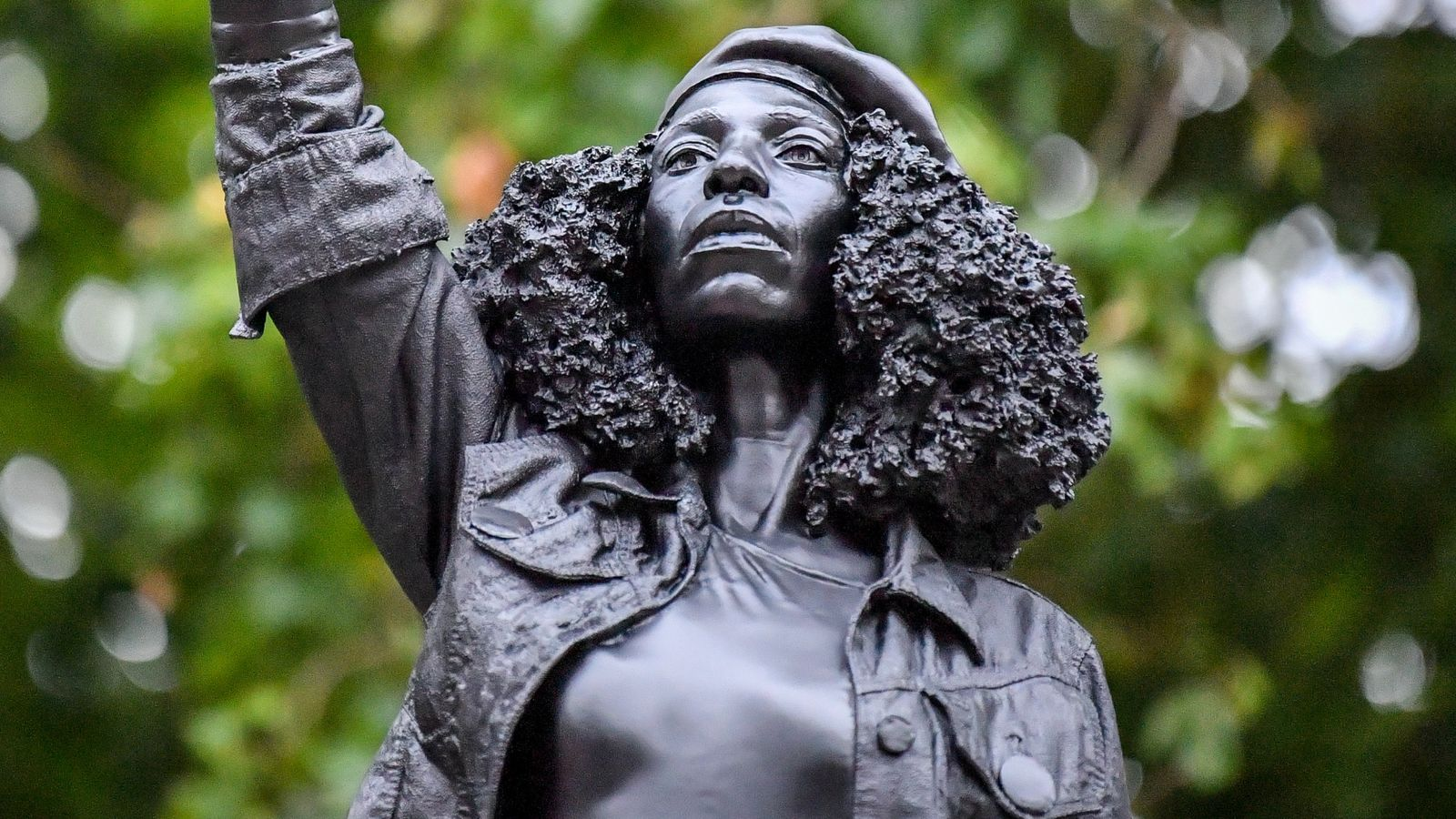Edward Colston statue replaced by sculpture of Black Lives Matter ...