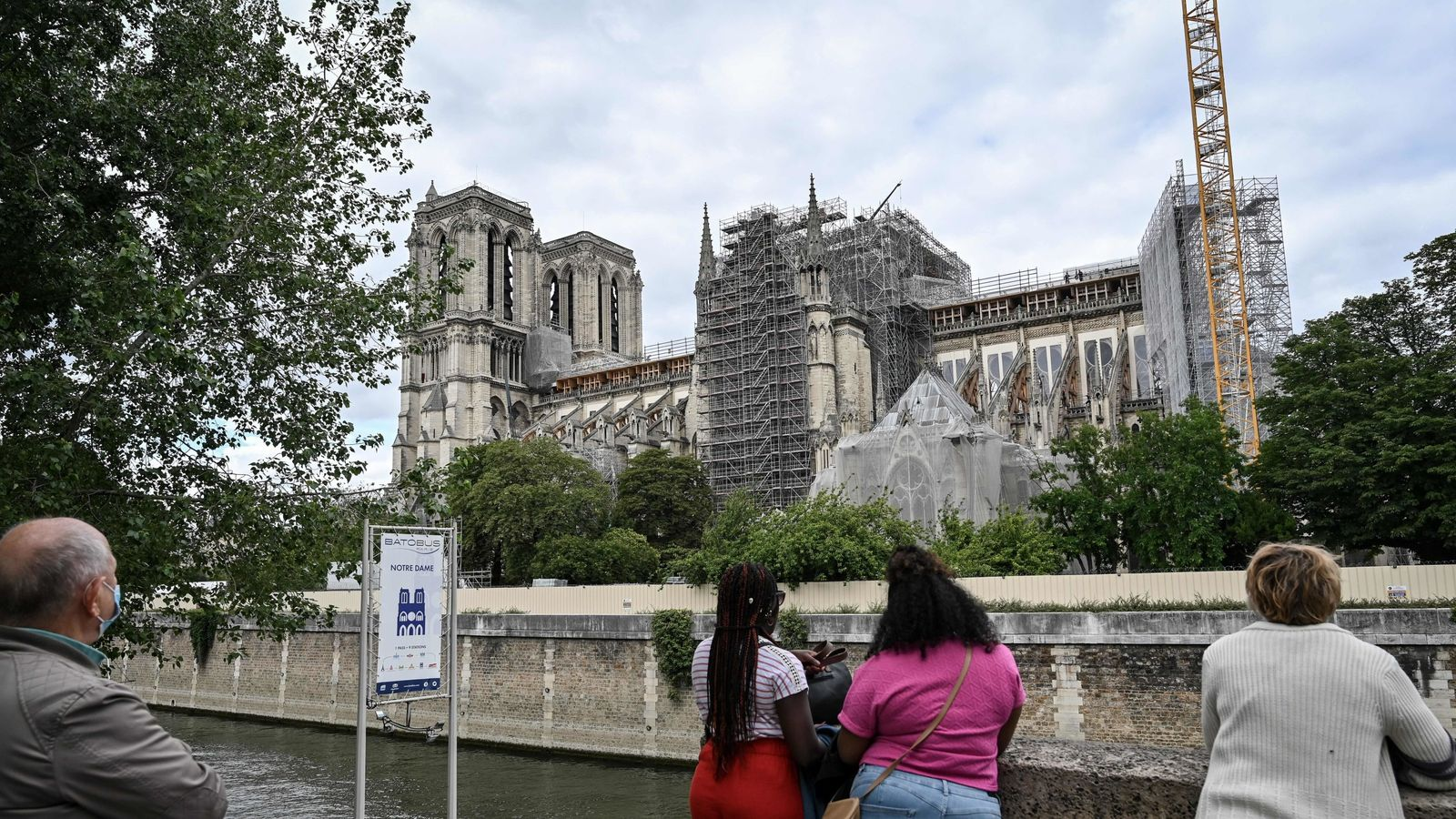 Notre-Dame will be rebuilt exactly as it was before fire