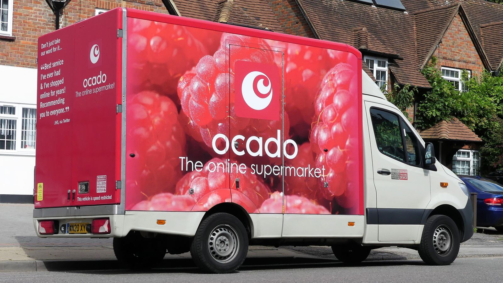 Ocado hunts new chair to bloom in Rose's shoes