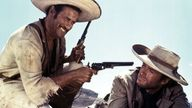 Eli Wallach and Clint Eastwood inThe Good, The Bad and The Ugly. 1966. Pic: P E A/Kobal/Shutterstock