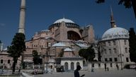 Hagia Sophia is to be converted back to an Islamic place of worship