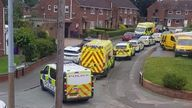 Police and paramedics were at the scene shortly after the stabbings
