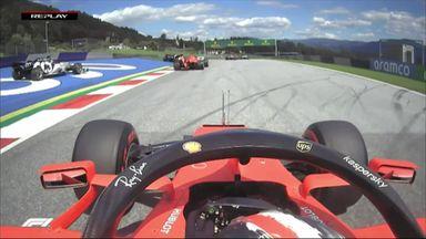 Ferrari chaos as Vettel and Leclerc collide!