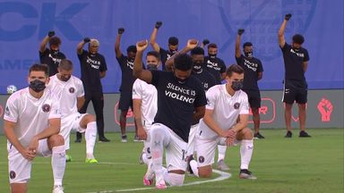 MLS players in racial justice protest