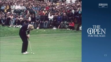 Nicklaus wins The Open For The Ages!