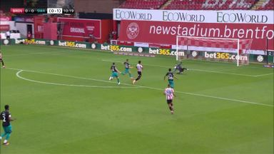 Watkins opens scoring for Brentford
