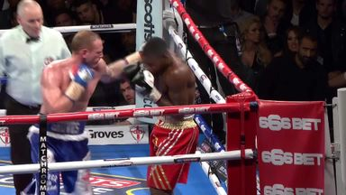 Groves knocks out 'Momma's Boy'