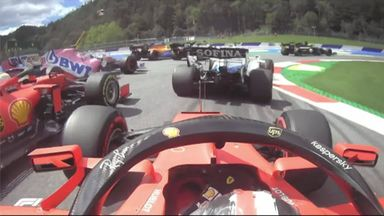 Who was to blame for Ferraris' collision?