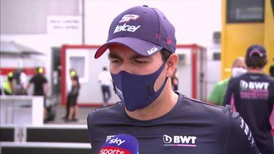 Perez reacts to Vettel, Aston rumours