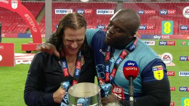 Akinfenwa: I feel blessed that Wycombe believed in me!