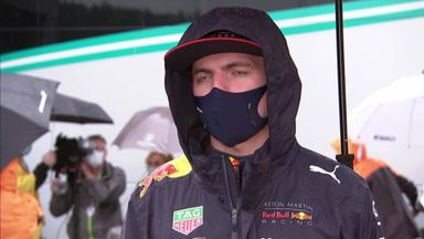 Verstappen qualifies second
