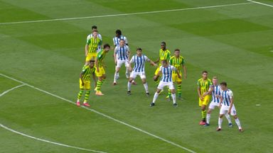 O'Shea equalises for West Brom