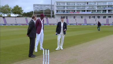 England vs West Indies: The Toss