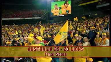Australia 29 - 23 Lions