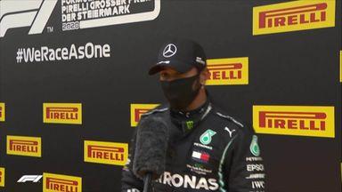 Top 3: Hamilton, Verstappen, Sainz