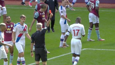 Benteke sees red after Konsa incident