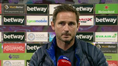 Lampard frustrated after defeat