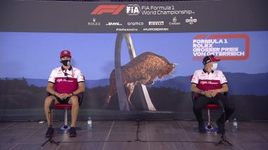 Alfa Romeo - Austrian GP press conference