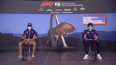 Racing Point: Austrian GP press conference