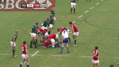 SA 9-28 Lions: 2009 3rd test highlights