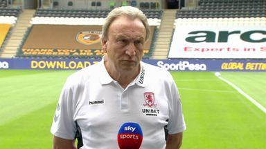 Hull v M'boro - Warnock pre-match