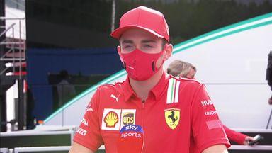 Leclerc: It'll be strange racing again