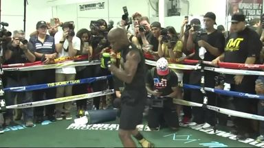 Mayweather's training skills