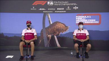 Alfa Romeo: Styrian GP press conference