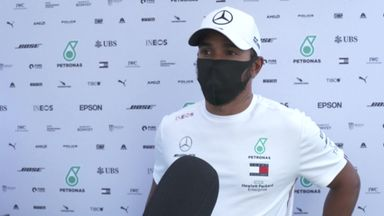 Hamilton hoping rain stays away