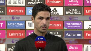 Arteta pleased by Arsenal energy and belief
